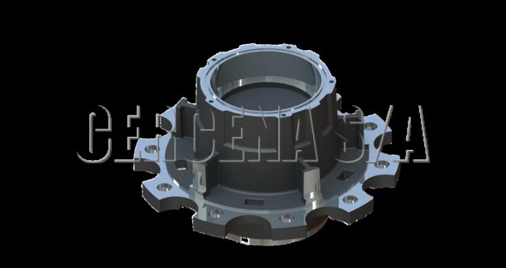 Imagem do produto Cubo de Roda CRC 097