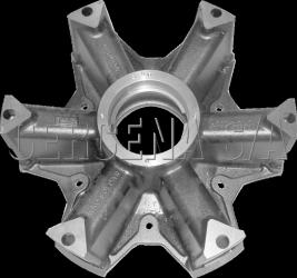 Cubo de Roda Raiado Aro 22 CRCR 002 R